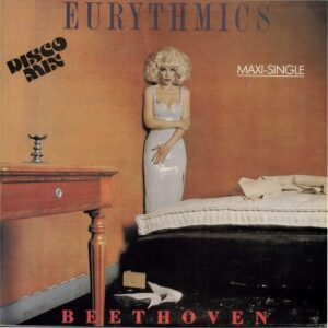 """1619 - Eurythmics - Beethoven (I Love To Listen To) - Costa Rica - 12"""" Single - 8055093"""