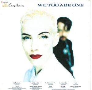 1627 - Eurythmics - We Too Are One - Mexico - LP - LAE 890