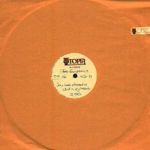 """1825 - Eurythmics - You Have Placed A Chill In My Heart - The UK - Promo 10"""" Single - DA16"""