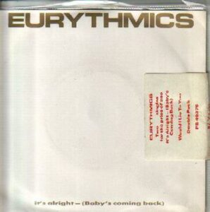 """1869 - Eurythmics - It's Alright (Baby's Coming Back) - The UK - 12"""" Single Doublepack - PT-40376"""