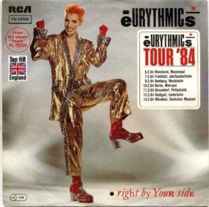 """1934 - Eurythmics - Right By Your Side - Germany - 7"""" Single - PB-68126"""