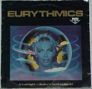 """2280 - Eurythmics - It's Alright (Baby's Coming Back) - France - 12"""" Single - PT-40376"""