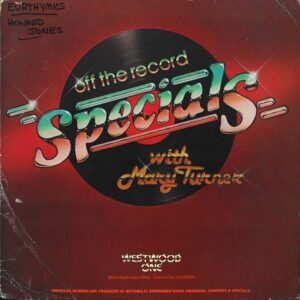 2307 - Eurythmics - Westwood - Off The Record With Mary Turner - The USA - LP - OTR 85-24