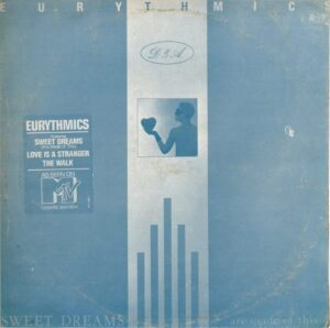 2927 - Eurythmics - Sweet Dreams (Are Made Of This) - South Korea - LP - AFL1-4681