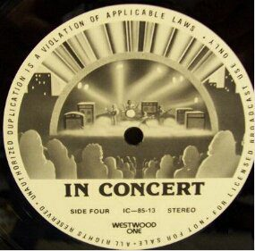 3472 - Eurythmics - Westwood - In Concert - The USA - LP - IC-85-13