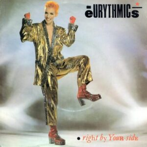 """3660 - Eurythmics - Right By Your Side - New Zealand - 7"""" Single - 104207"""