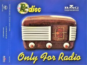 3690 - Eurythmics - BMG Only For Radio Agosto 2000 - Italy - Promo CD - 74321777172