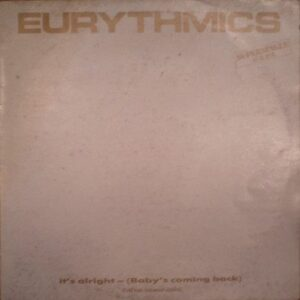 """3997 - Eurythmics - It's Alright (Baby's Coming Back) - Spain - 12"""" Single - PT-40376"""