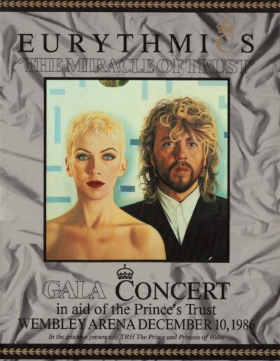 Programme : 1986-12-10 – Eurythmics – The Miracle Of Trust from The UK ID: 2388