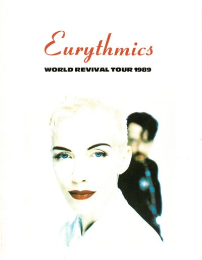 Programme : 1989-01-01 – Eurythmics – World Revival Tour from The UK ID: 2414