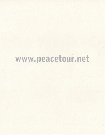 Programme : 1999-09-18 – Eurythmics – Peace Tour from The UK ID: 2374