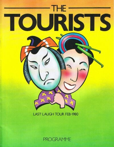 Programme : 1980-02-01 – The Tourists – Last Laugh Tour from The UK ID: 2385