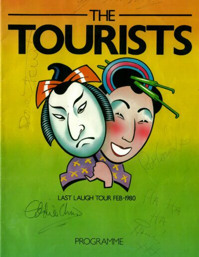 Programme : 1980-02-01 – The Tourists – Last Laugh Tour from The UK ID: 2421