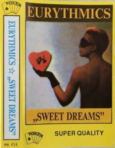 5149 - Eurythmics - Sweet Dreams (Are Made Of This) - Poland - Cassette - PR 411