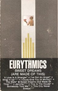 5160 - Eurythmics - Sweet Dreams (Are Made Of This) - The USA - Cassette - AFK1-4681
