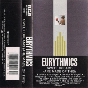 5161 - Eurythmics - Sweet Dreams (Are Made Of This) - The USA - Cassette - AFK1-4681