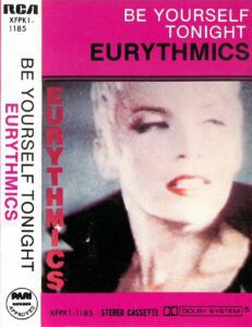 5185 - Eurythmics - Be Yourself Tonight - The Philippines - Cassette - XFPK1-1185