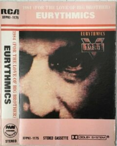 5307 - Eurythmics - 1984 (For The Love Of Big Brother) - The Philippines - Cassette - XFPK1-1185