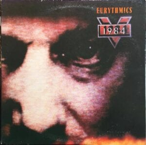 5313 - Eurythmics - 1984 (For The Love Of Big Brother) - Taiwan - LP - 8069