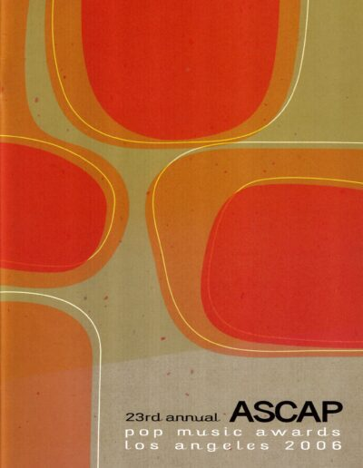 Programme : 2006-05-22 – Annie Lennox – 23rd ASCAP Pop Music Awards from The USA ID: 2401