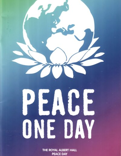 Programme : 2007-09-21 – Annie Lennox – Peace One Day from The UK ID: 2381