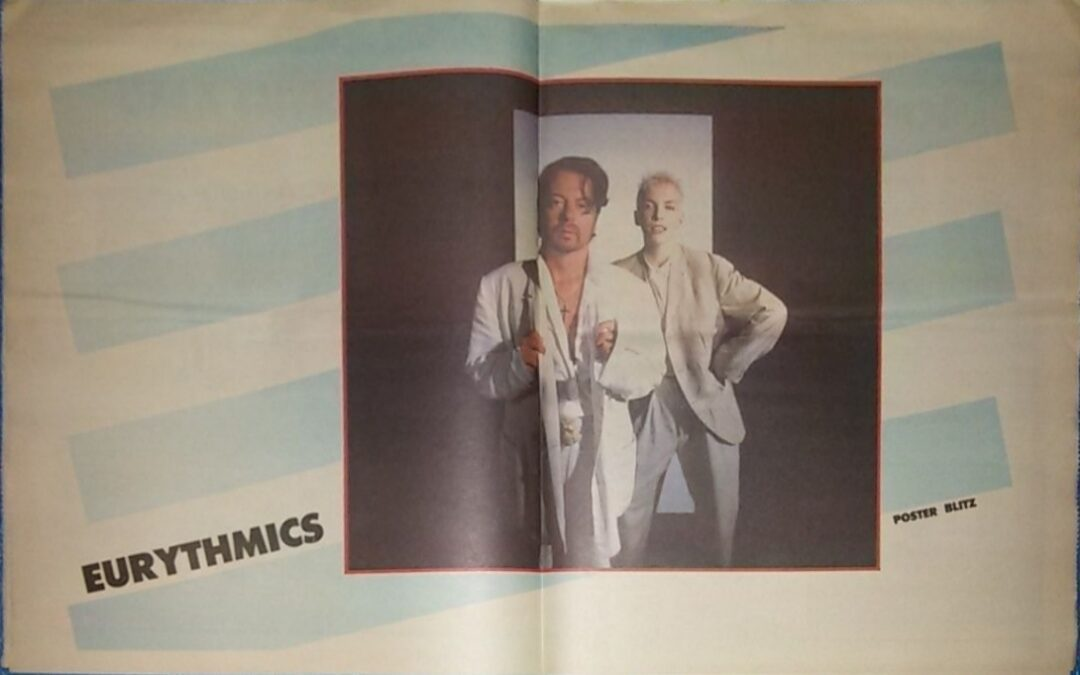 Eurythmics Posters from Music Magazines No. 89 in a series