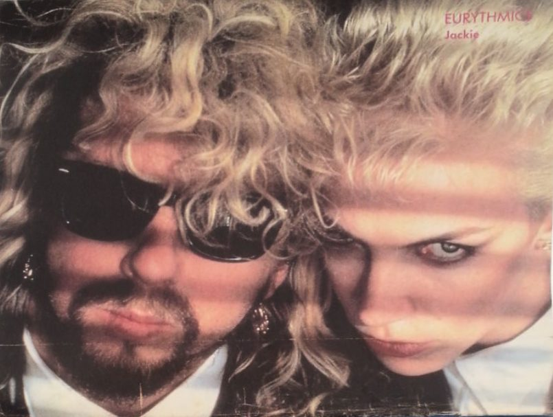 Eurythmics Posters from Music Magazines No. 91 in a series
