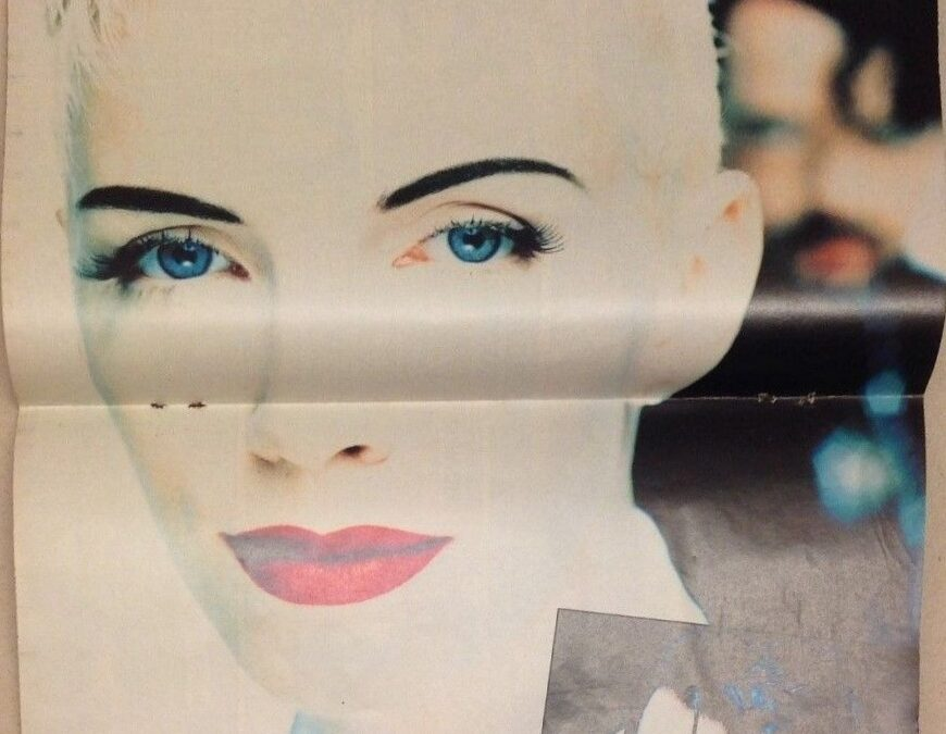 Eurythmics Posters from Music Magazines No. 93 in a series