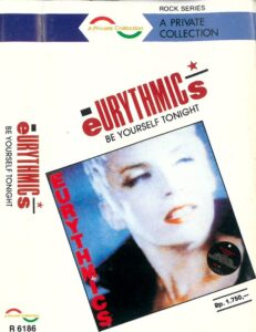 5182 - Eurythmics - Be Yourself Tonight - Indonesia - Cassette - R 6186