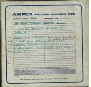 5621 - Eurythmics - Sweet Dreams (Are Made Of This) - The UK - Promo Reel To Reel - None