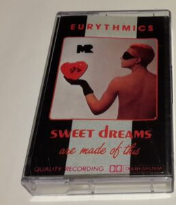 5655 - Eurythmics - Sweet Dreams (Are Made Of This) - Poland - Cassette - 1285