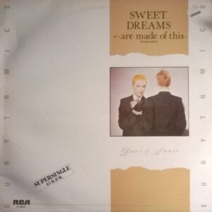 """5668 - Eurythmics - Sweet Dreams (Are Made Of This) - Spain - 12"""" Single - PC-68037"""