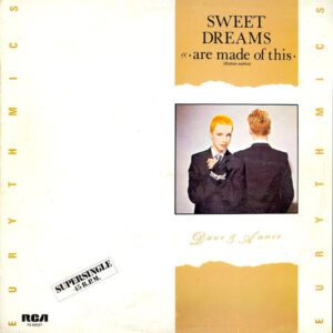 """5669 - Eurythmics - Sweet Dreams (Are Made Of This) - Spain - 12"""" Single - PC-68037"""