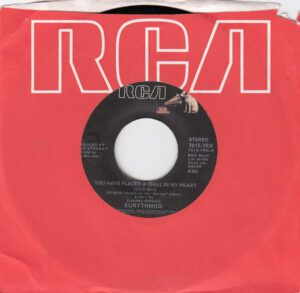 """5739 - Eurythmics - You Have Placed A Chill In My Heart - The USA - 7"""" Single - 7615-7-RX"""