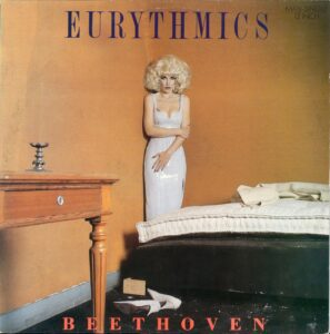 """5881 - Eurythmics - Beethoven (I Love To Listen To) - Italy - Promo 12"""" Single - PT-41572"""