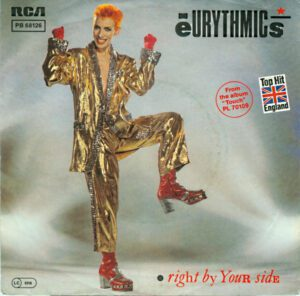"""5894 - Eurythmics - Right By Your Side - Germany - 7"""" Single - PB-68126"""