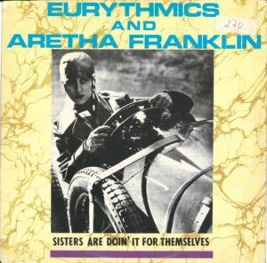 """5904 - Eurythmics - Sisters Are Doin' It For Themselves - Portugal - 12"""" Single - PT-40340"""