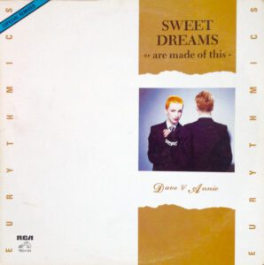 """5917 - Eurythmics - Sweet Dreams (Are Made Of This) - Mexico - 12"""" Single - TEC-131"""