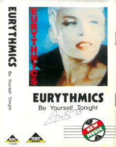 5940 - Eurythmics - Be Yourself Tonight - Indonesia - Cassette - T 6181