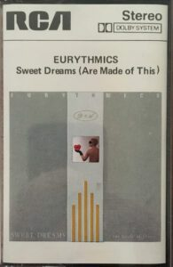 5982 - Eurythmics - Sweet Dreams (Are Made Of This) - Italy - Cassette - PK-25447