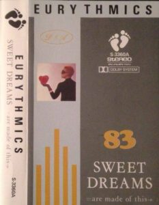 5984 - Eurythmics - Sweet Dreams (Are Made Of This) - Malaysia - Cassette - S-3360A