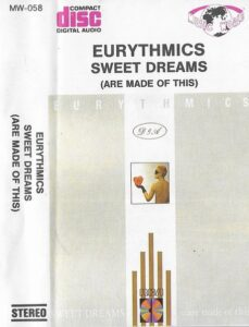 5985 - Eurythmics - Sweet Dreams (Are Made Of This) - Poland - Cassette - MW-058