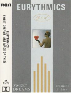 5988 - Eurythmics - Sweet Dreams (Are Made Of This) - The UK - Cassette - NK-71471
