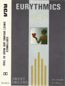 5989 - Eurythmics - Sweet Dreams (Are Made Of This) - Germany - Cassette - PK-25447