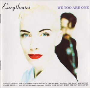 6034 - Eurythmics - We Too Are One - The UK - CD - 74321 20898 2