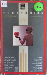 6054 - Eurythmics - Sweet Dreams (Are Made Of This) - The USA - Video - BE91132