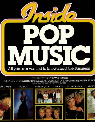 1984-01-01 – Eurythmics – Inside Pop Music from The UK ID: 2707