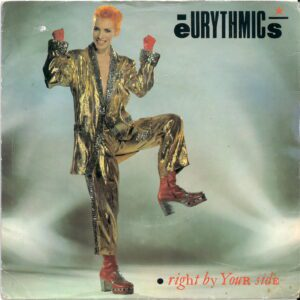 """6305 - Eurythmics - Right By Your Side - New Zealand - 7"""" Single - 104207"""