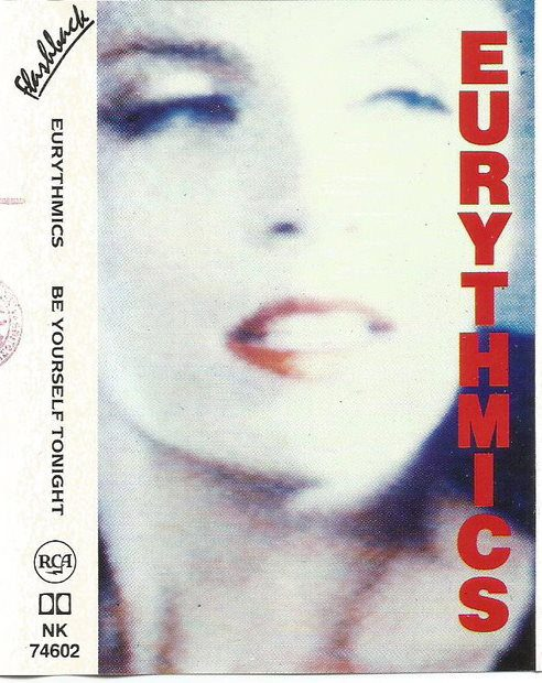 6370 - Eurythmics - Be Yourself Tonight - Italy - Cassette - NK-74602
