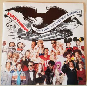 """6496 - Eurythmics - The King And Queen Of America - France - 7"""" Single - PB-43399"""